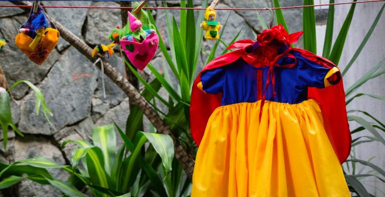 Von Disney inspiriert wirken diese Hochzeitskleider wie zauberhafte Roben
