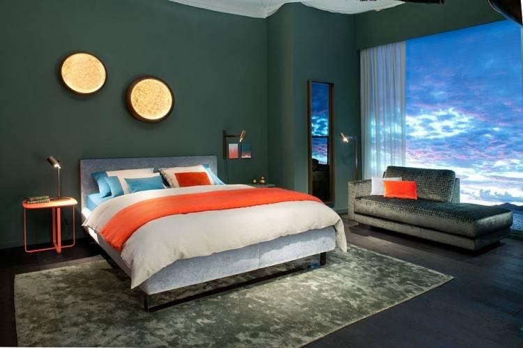 Die richtige Farbe im Schlafzimmer beruhigt die Nerven