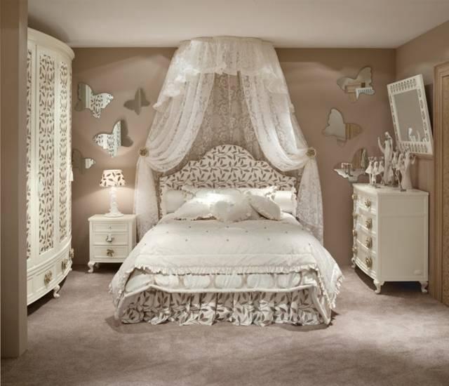 Seltenes Jugendstil Schlafzimmer aus Mahagoni 04