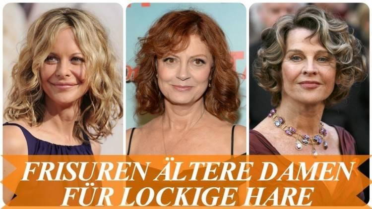 Frisuren für ältere Frauen 2019