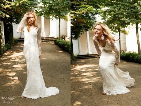 Von der Spitze Brautkleid zu