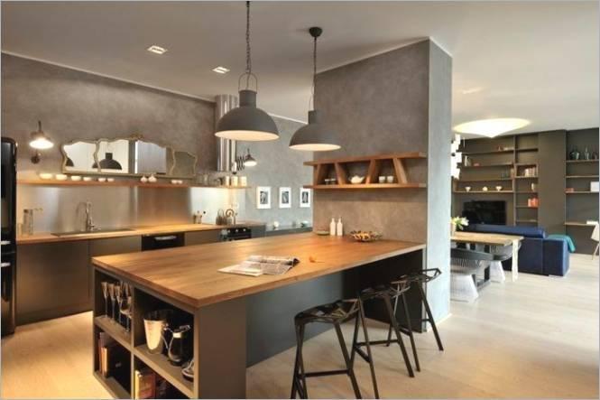 Küchenideen Offene Küche