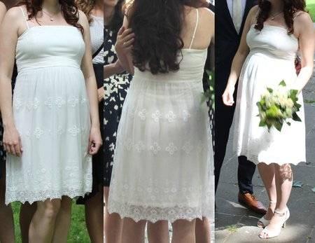 Umstandskleid Hochzeitskleid Esprit Gr