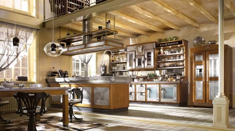 l kche selber bauen kchen landhausstil avec bartisch Küche Landhausstil Selber Bauen kuche kuchen et kuechen