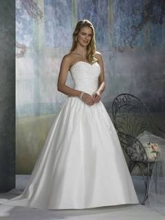 NUOJIA Hochzeitskleider Prinzessin Spitze Brautkleider A Linie Lange ärme B0758C5MPN