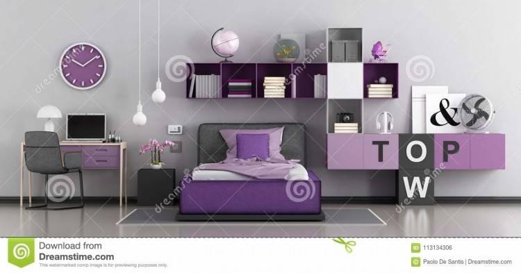 Idee helles Schlafzimmer für Mädchen