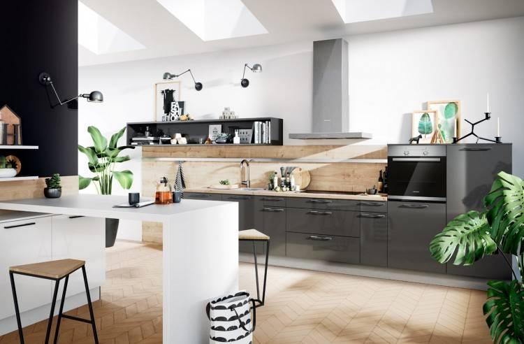 """Maira Del Nero on Instagram: """"Inspiração do dia: cozinha clean com detalhes  em madeira e patchwork no piso"""