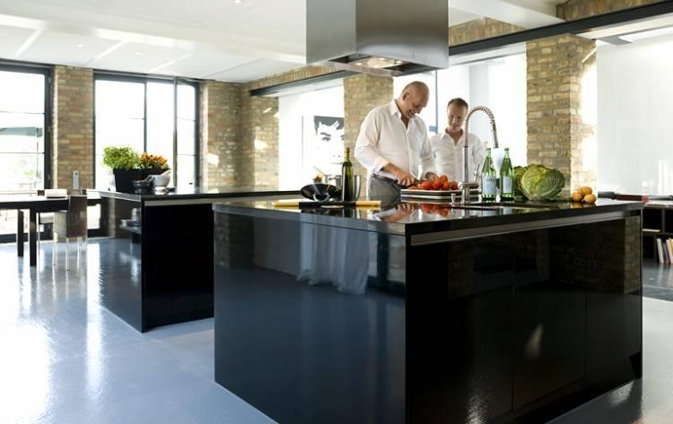 offene Küche mit Essplatz ähnliche Projekte und Ideen wie im Bild vorgestellt findest du auch in unserem Magazi   home   Pinterest   Kitchen,