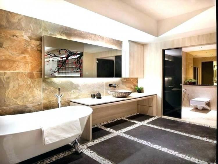 abgehangte decke badezimmer beleuchtung luxus bad badbeleuchtung ideen
