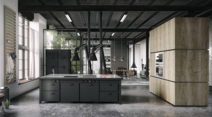 90 neue Küchenideen: Weiß und Schwarz #küche #deutschküche