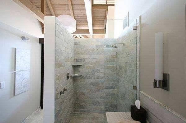 Badezimmer Ideen Mit Begehbarer Dusche