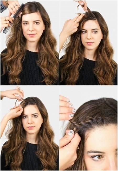 Beste Suche nach Frisuren Einfach Lange Haare für 2019