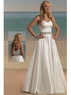 Hochzeitskleid Brautkleid schlicht Kleid Braut mit od