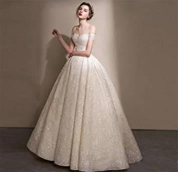 Großhandel Hochzeitskleid Langes Kleid Langes Hülsen Weißes Schatz Wulstiges Tulle Ball Kleid Im Jahre 2018 Kann Das Neue Kleid Besonders Angefertigt Werden