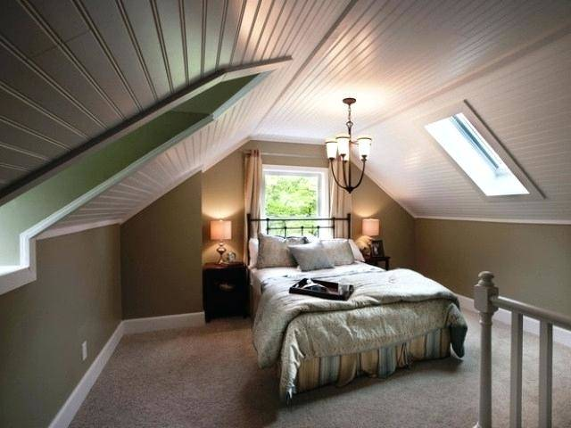 Schlafzimmer mit Dachschräge gestalten – 23 moderne Wohnideen