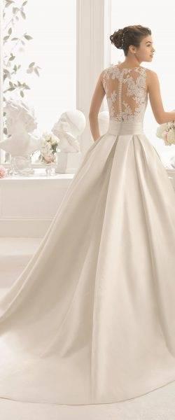 YASIOU Hochzeitskleid Kurz Elegant Damen Weiß A Linie Tüll Spitze Knielang  3/4 arm Brautkleider mit