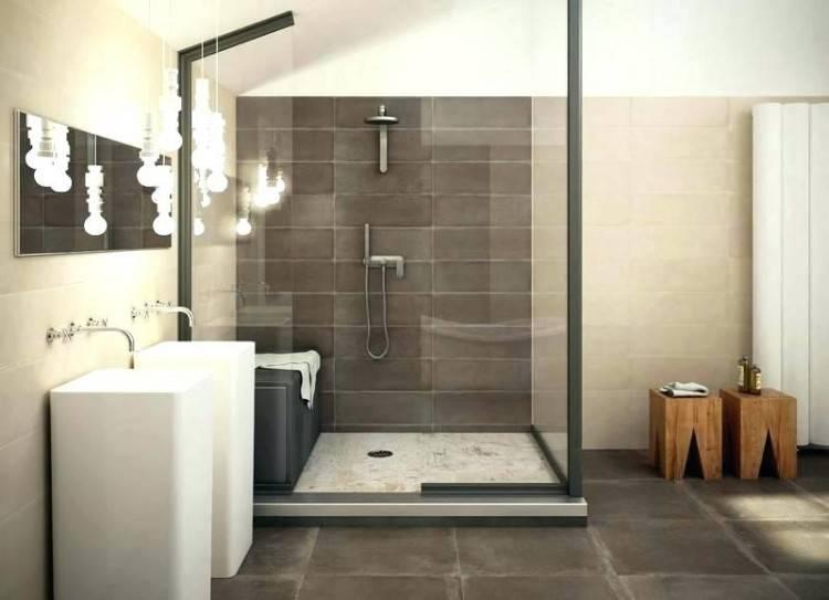 Einfach Luxus Badezimmer Grau élégant Luxus Bad Design Beige Braun