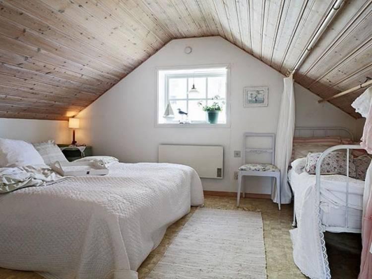 der kann sich für ein Massivholzbett im Landhausstil und Lattenrosten  entscheiden