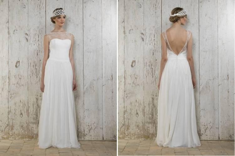 Das Brautkleid Giselle von Lambert Creations passt herrlich zu Boho und  Vintage Hochzeiten