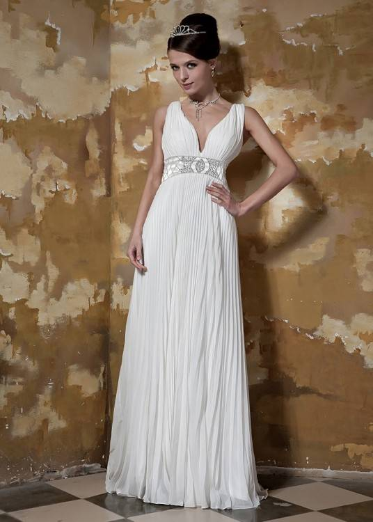 Wer auf einer märchenhaften Hochzeit besteht, hat das passende  Hochzeitskleid gefunden: Der Bloomy Rose Lingerie Dress besticht durch  einen einfachen,