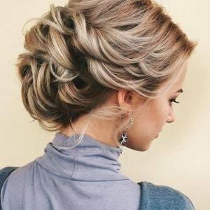 Die Frisur Zur Hochzeit Kurze Haare für 2019 Anleitungen