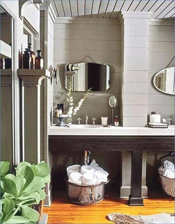 Badmöbel Mit In Wand Eingebautem Spiegelschrank Wand In Betonoptik, Badezimmer Licht Badezimmer Decken Ideen Inspirierend Badezimmer Licht