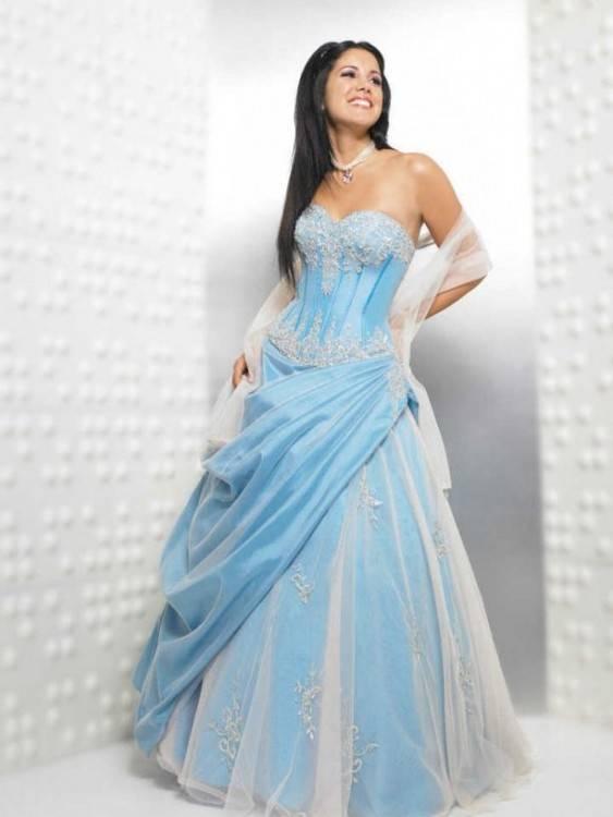 LuckyShe Damen Trägerlos Weiß Burgund Hochzeitskleid Brautkleid: Amazon
