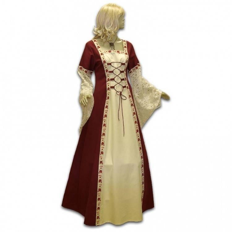 Historisch*Mittelalter*Exclusiv*Brautkleid*Gewand von Mittelalter Fashion  auf DaWanda
