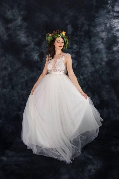 Brautkleid Elfenbein Formales Erosebridal Hochzeitskleid Spitze Reine C  Hand qgXxYxZ4w