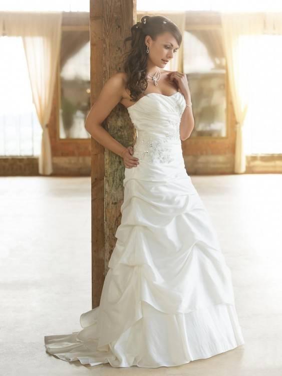 Brautkleid, Hochzeitskleid, Prinzessin, Corsage, Schnürung,