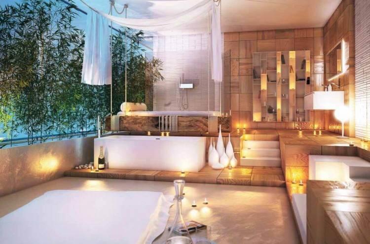 Moderne Turlose Duschkabine Im Badezimmer Eine Moderne Türlose Duschkabine Im Badezimmer, Moderne Turlose Duschkabine Im