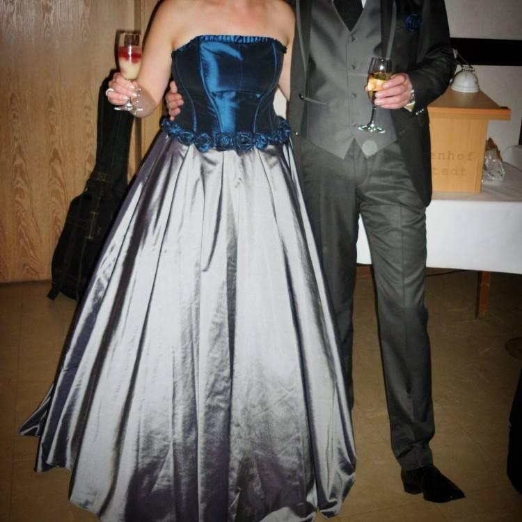 BIUBIU Damen Meerjungfrau Abendkleid Spitze Hochzeitskleid Cocktailkleid Dunkelblau kTqZXJ