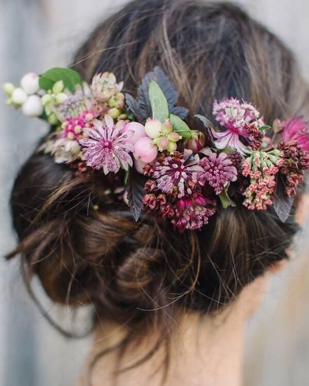 Bei echten Blumen sollten Sie gegenseitig ein bisschen mehr kümmern