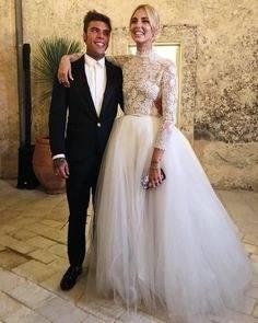 Chiara Ferragni Hochzeit #Chiaraferragni #hochzeit #wedding #weddingdress #dress #white #love #couple #couplegoals #liebe #influencer #glamour