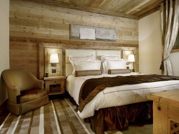 Schlafzimmer Chalet Stil | Charmantes Panoramablick Apartment Im