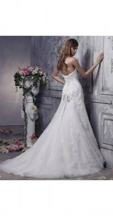 Brautkleid Hochzeitskleid Corsage Maggie Sottero Gr