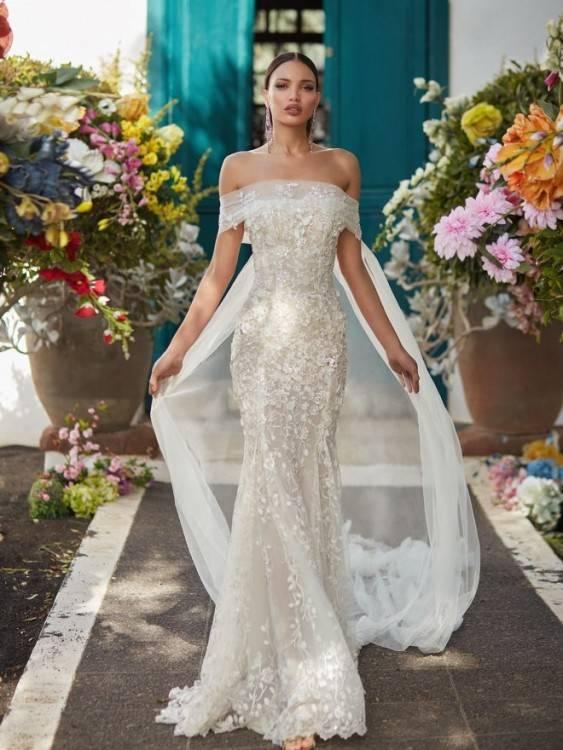 Großhandel Hochzeitskleider 2018 Weißer Spitze Oben, Der Sheer Brautkleid Spitze Stickereischatz Bördelt, Der Luxus Vestidos De Novia Abule Bördelt Von
