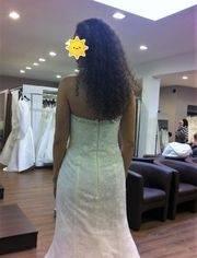 Hochzeitskleid Brinkman mit Spitze