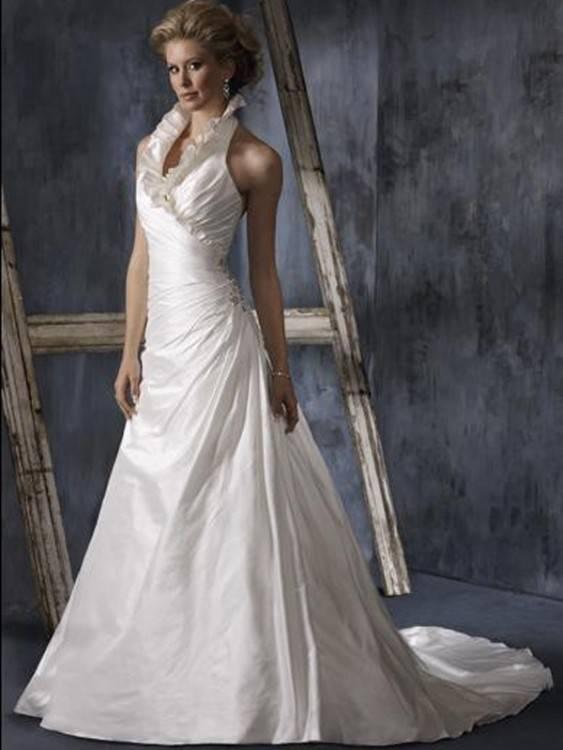 Großhandel 2019 Frühling Hohe Kragen Hochzeitskleid Spitze Lange Ärmel Dot Tüll Garten Brautkleider Applikationen Hohe Qualität Brautkleider Von Huifangzou,