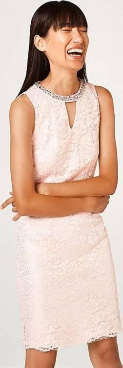 Tolles Maxikleid Hochzeitskleid Brautkleid Abendkleid NEU Esprit Collection 40 ivory weiß