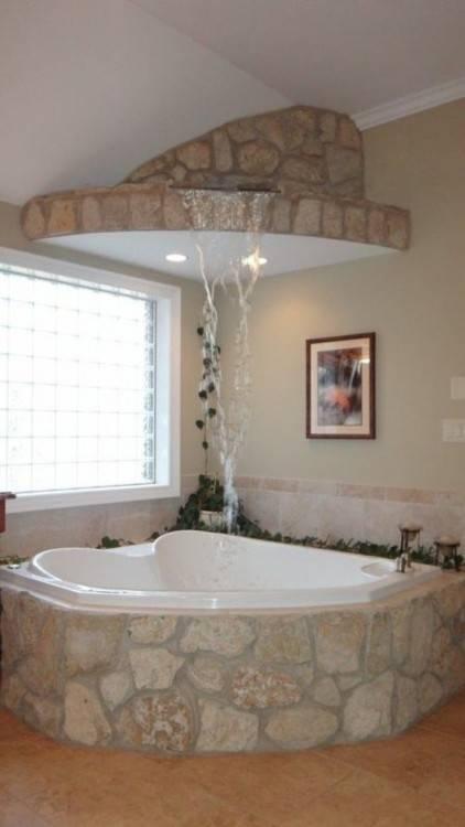 Eckbadewanne – eine der tollsten Optionen für Ihr Badezimmer | Badeinrichtung Ideen