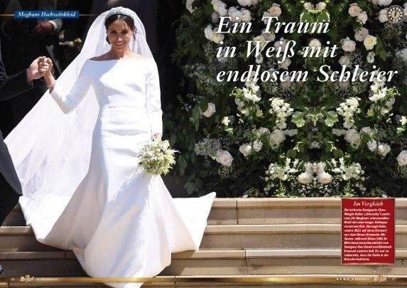 Pippa Middleton heiratet in einem wunderschönen weißen  Brautkleid aus