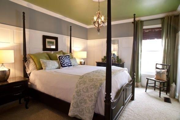 Schlafzimmer in der neuen Wohnung