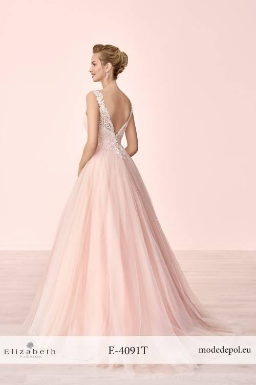 Großhandel 2018 Milla Nova Brautkleider Langarm Blush Pink Spitze Appliqued Brautkleider Kapelle Zug Modest Maß Hochzeitskleid Von Waishidress,