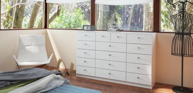 Lars Olesen Schlafzimmer Kommode mit Tür und Schubladen Modern Zen