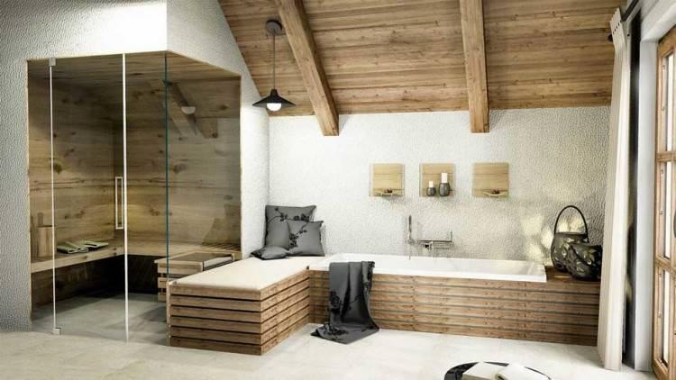 Holz Im Bad Ehrfa Rchtiges Moderne Dekoration Badezimmer Uncategorized Khles Ideen Mit Gut Behandeln Holzbadewanne Holzboden