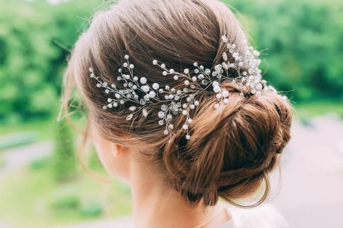 Ulyana Aster Nachhaltig Hochzeit Frisuren