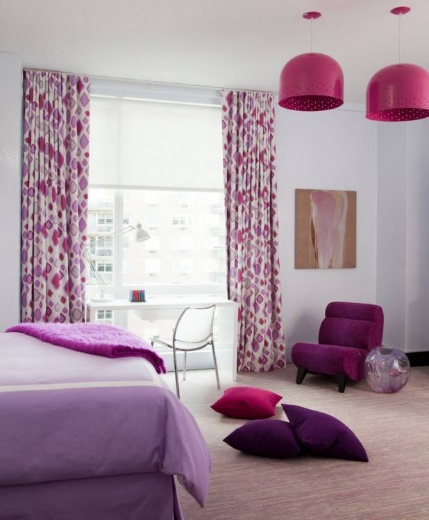 Inspiration für eine schöne, moderne Mädchen Schlafzimmer Kinder mit