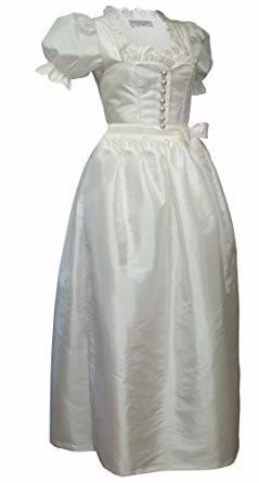 Brautkleid Hochzeitskleid creme Gr