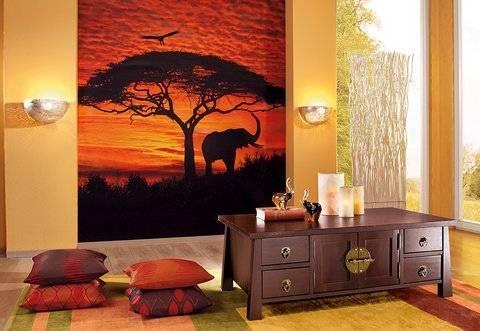 Afrika Deko für die Einrichtung der Wohnung wählen